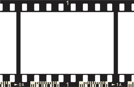 analogical: Photographic Film  Frame, with frame numbers and code