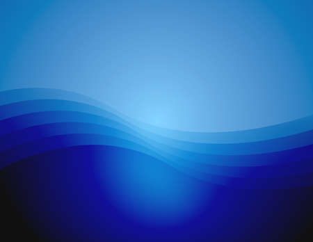 Background with gradient and waves