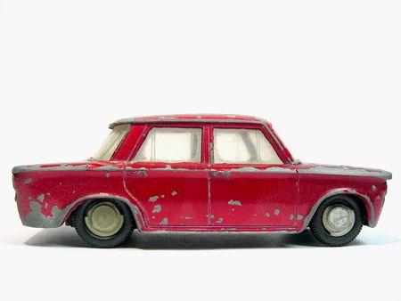 italian car: vintage scaled italian car form the sixties.