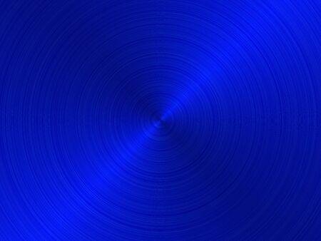 anodized: textura cepillada metal azul