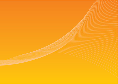 graduated background with twirly lines Vector