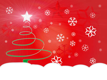 Christmas winter background Stock Photo - 728623