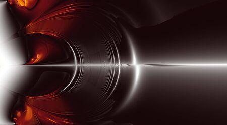 geluidsgolven: Fractal Explosion of Sound Waves. Kort computer gegenereerde fractaal achtergrond