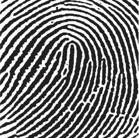 suspect: Fingerprint. Square crop