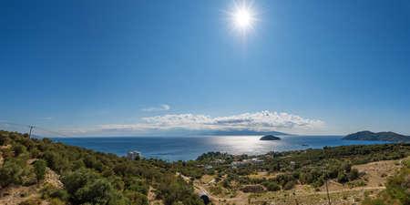 beautiful beaches of Greece in summer