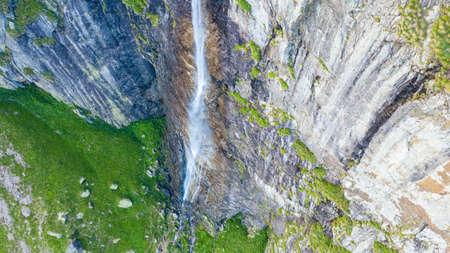 The biggest waterfall in Bulgaria. Raysko praskalo. Banco de Imagens - 129810738
