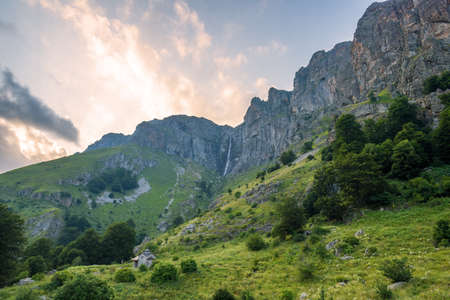 The biggest waterfall in Bulgaria. Banco de Imagens - 129810741