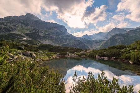 Scenery summer landscape, Pirin Mountain, Bulgaria. Banco de Imagens
