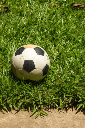 football, Sports, grass, green Stock Photo