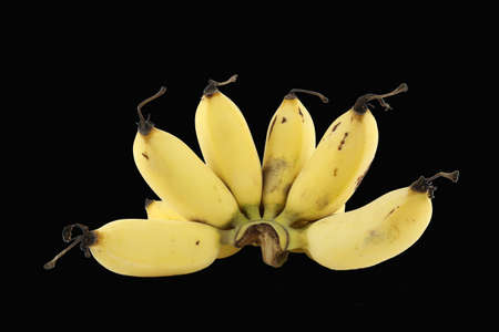 Multifunction banana plants used as food by Thai dessert. The stems and leaves.