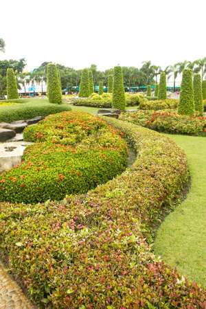 Landscaping within the temple  In Nakhonrajasrima  THailand
