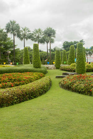 Park in Thailand Stock Photo