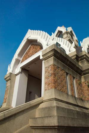 Tower at  Salaloi Temple  Nakhonrajasrima