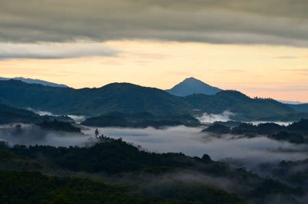 farther: fog mountain
