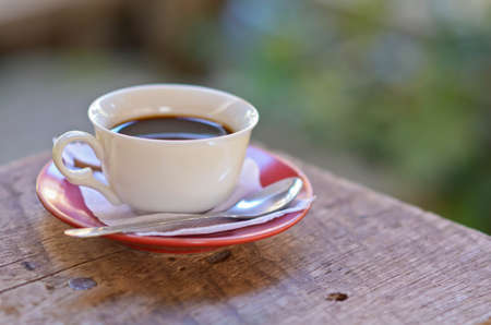 espresso cup: cup of espresso Stock Photo
