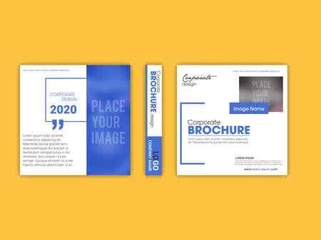 Template vector design for Brochure, Annual Report, Magazine, Poster, Corporate Presentation, Portfolio, Flyer, infographic, layout modern