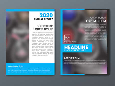 Brochure design. Corporate business template brochure, report, catalog, magazine. Brochure layout modern circle abstract background. Creative brochure vector concept