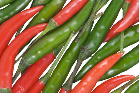 Background from cayenne chili pepper Stock Photo