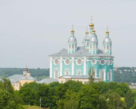 Uspenskii cathedral in Smolensk. Russia Stock Photo