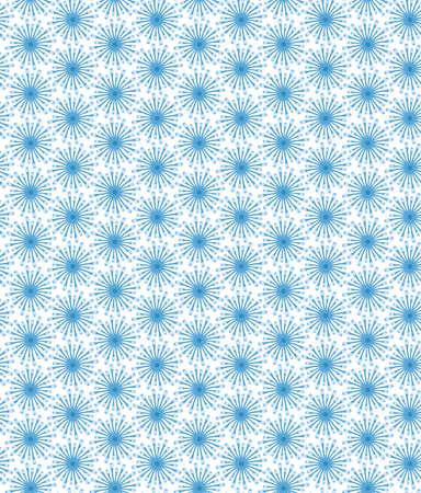 blue simple flowers, vector seamless pattern, print pattern, fabric, wallpaper