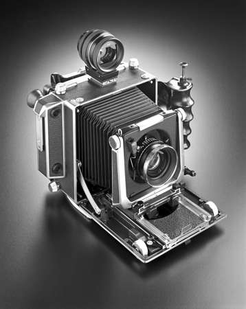 Press camera from the 1930ies and 1940ies Imagens - 3674130