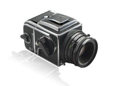 Zweedse medium formaat camera