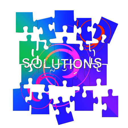 coming together: puzzle pieces coming together on word solutions