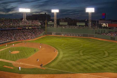 baseball stadium: Baseball field
