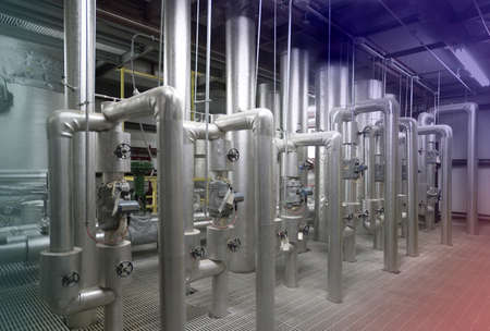 filtration: Facility for treating water before it gets to cities and towns