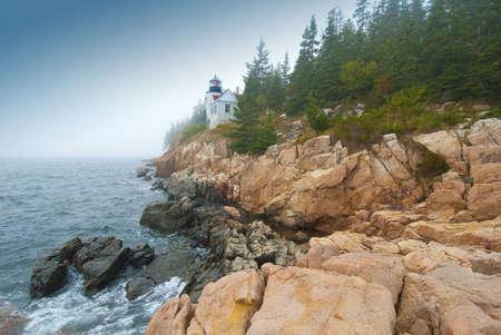 Bass Harbor Head, Light, Mount Desert Island, Acadia National Park, Main