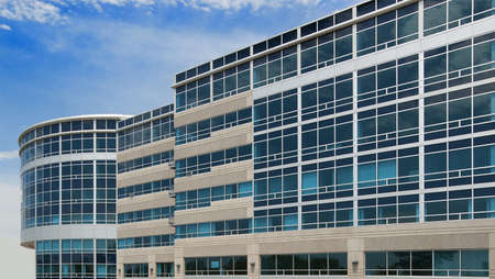 Modern office building in glass and concrete Stock Photo - 8496440