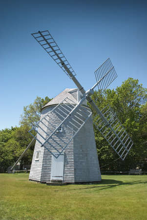 Windmill located on old Cape Cod, Massachusetts
