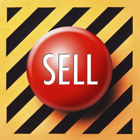 sell: Sell button meant for Wall Street when the market panics!