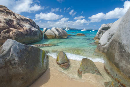 virgin: Famous The Baths on Virgin Gorda, British Virgin Islands
