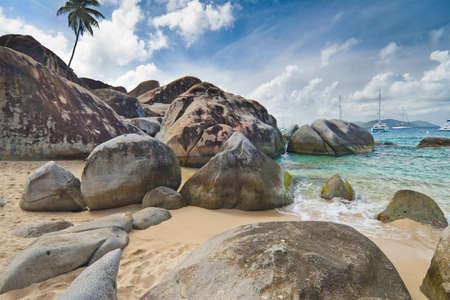 The Baths on Virgin Gorda, British Virgin Islands photo