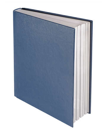 hardcovers: Blue book, isolated