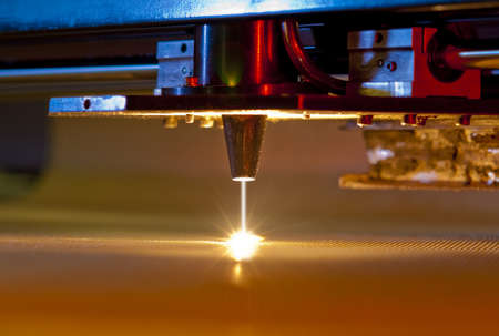 steam jet: laser cutter