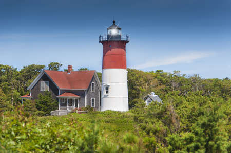 illuminative: Truro light on Cape Cod, MA  USA