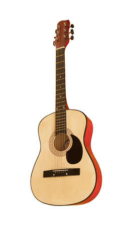 frets: classical guitar, isolated