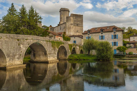 The Château de Bourdeilles is a castle located in the commune of Bourdeilles in the Dordogne département in France. Stock Photo - 16155073