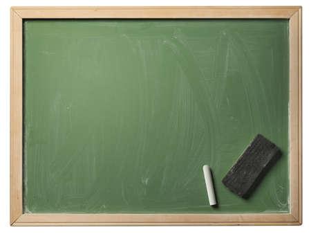 schoolbord, geïsoleerde Stockfoto