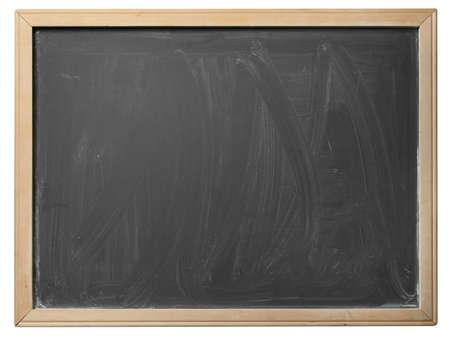 Schoolbord geïsoleerd op witte achtergrond