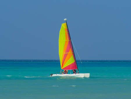 Catamaran sailboat Stock Photo - 17884031