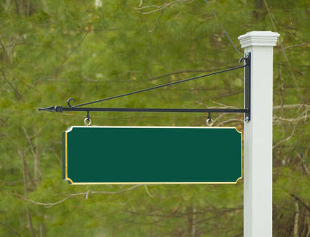 Sign post to new house development Stock Photo - 18279063