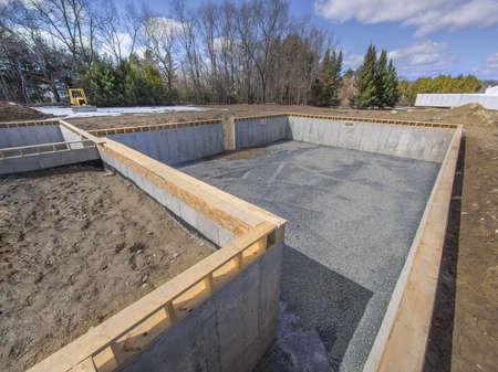 새 집 재단 건설