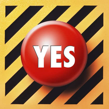 Yes button Stock Photo - 18731267