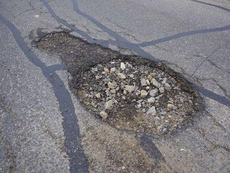 pothole: Pothole