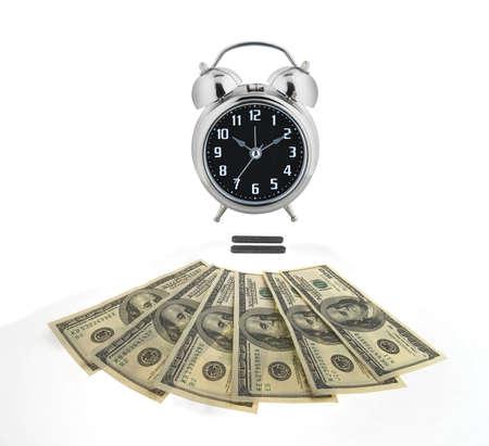 numismatics: Time is money concept Stock Photo