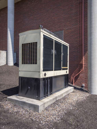 diesel generator: Diesel Backup Generator for Office Building