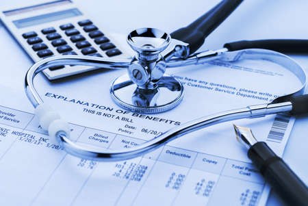 Cost of helath Pflege Standard-Bild - 20727573
